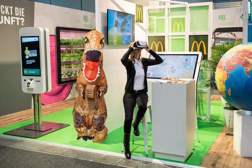 McDonald LED Werbetafeln